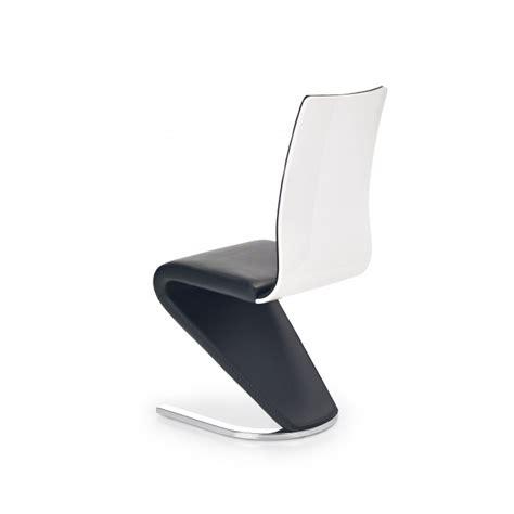 chaise blanche et noir chaise design et blanche pied u horine so inside
