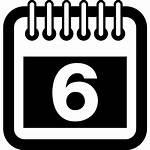 Calendar Icon Month Border Outline Square Spring