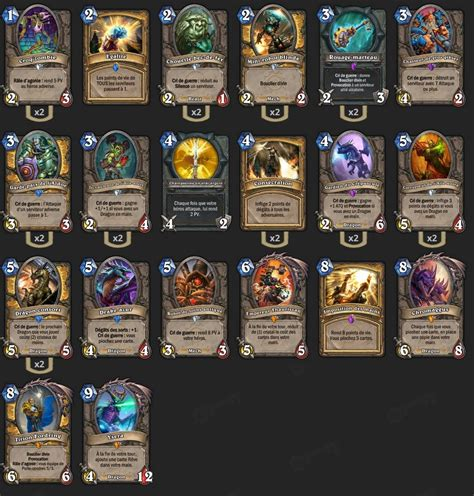 Warrior Decks Hearthstone Tgt by Deck Paladin Tgt Justsaiyan Hearthstone Heroes