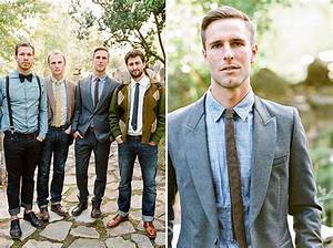Why It Works Wednesday Dressed Up Casual Groomsmen