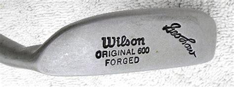 wilson original 600 george low putter