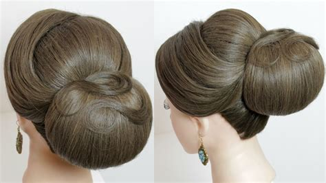 Classic Bridal Updo Hairstyles by Indian Bridal Hairstyle Classic Updo For Medium To