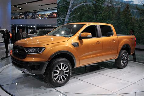 2019 Ford Ranger Gets 2.3l Ecoboost Engine, 10-speed
