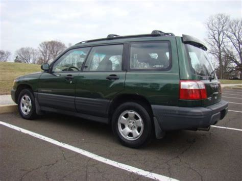 2002 green subaru forester buy used 2002 subaru forester automatic all wheel drive