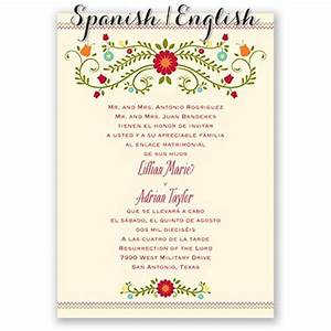 invitaciones de boda invitations by dawn With addressing wedding invitations in spanish
