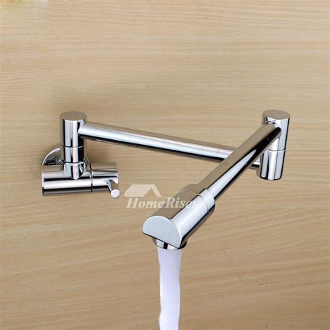 Wall Mount Pot Filler Kitchen Faucet by Modern Kitchen Faucets Pot Filler Wall Mount Brushed