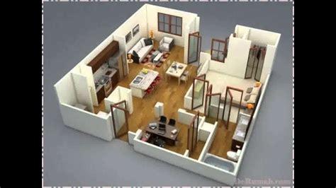 desain rumah modern  kamar tidur  dekhom