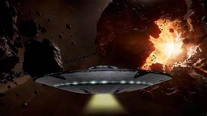 Saucer Flying Universe Defence Galaxy War Defense