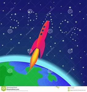 Flying Spaces Preise : rocket flying into space stock vector image of earth 15559656 ~ Markanthonyermac.com Haus und Dekorationen