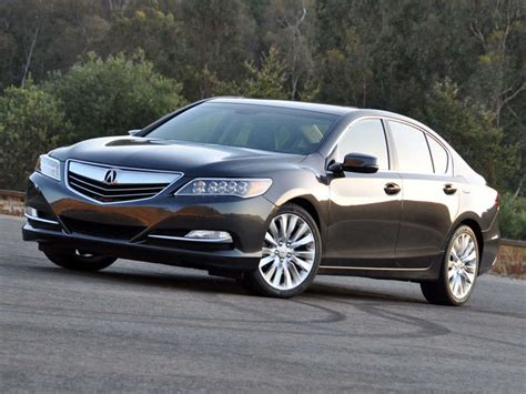 Acura Car Reviews by 2014 Acura Rlx Road Test Review Autobytel