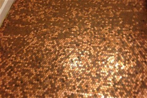 create  floor  pennies wisetradesmen