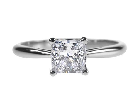 engament ring princess cut diamond ring 0 92ct diamond engagement ring