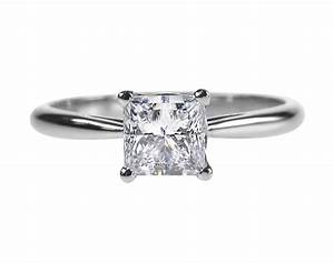 Platinum diamond princess cut engagement ring ipunya for Platinum princess cut wedding rings