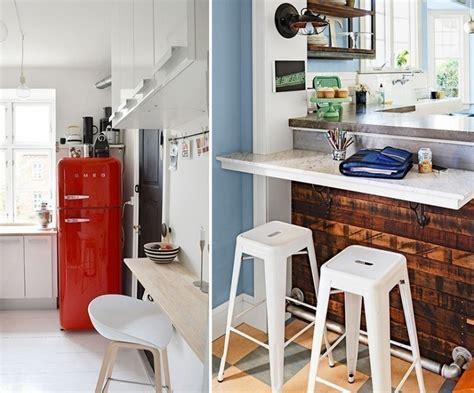 ideas  armar una practica barra en la cocina