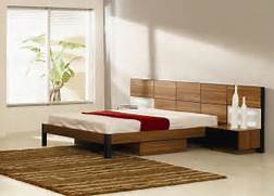 Platform Bed Decoration Modern Platform Bed With Lights Modern Platform Bed With