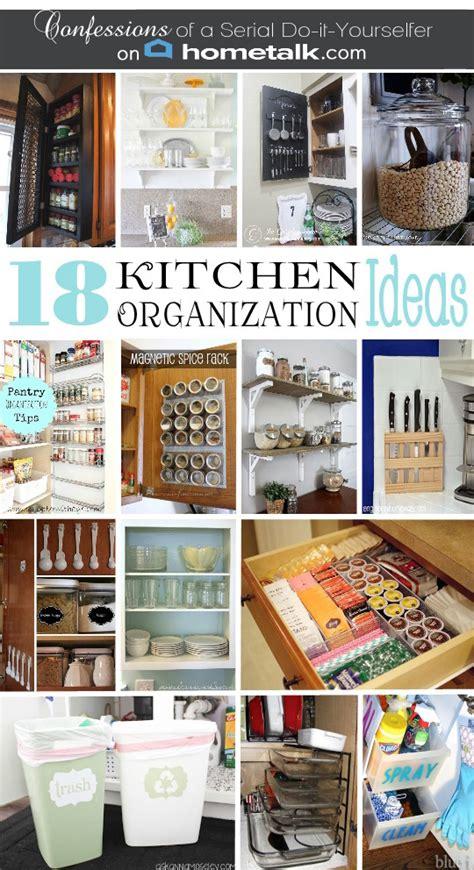 organized kitchen ideas diy spice cabinet and 17 more kitchen organization ideas
