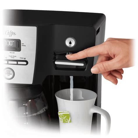 Mr. Coffee Versatile Brew Coffee Maker and Hot Water Dispenser (Refurbished)