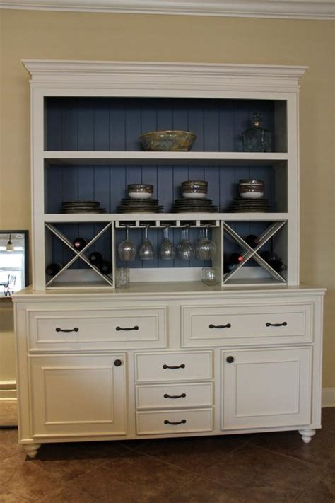 custom built buffet  hutch wine rack china cabinet
