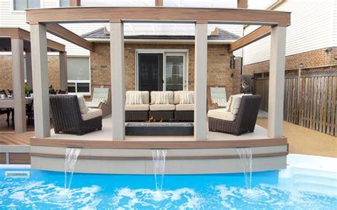 trex blog pool deck designs worthy   plunge trex