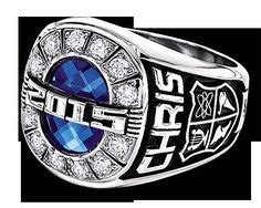 design your own class ring signet ring by jostens traditional monogram ring from