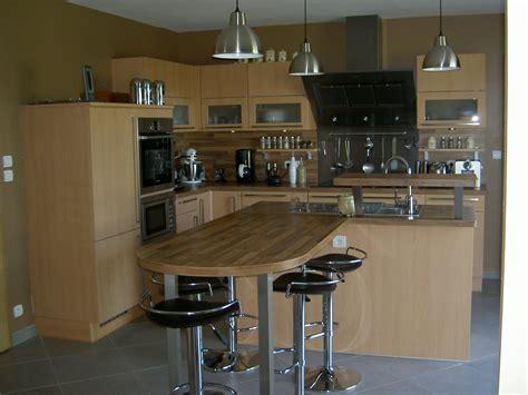 photo de cuisine ouverte sur sejour ma cuisine photo 2 3 cuisine de 20 m2 ouverte sur