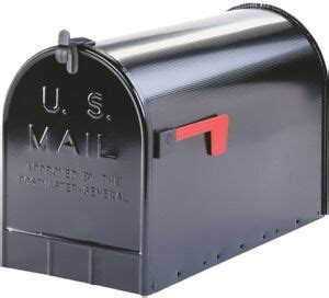gibraltar jumbo post mount extra large rural mailbox
