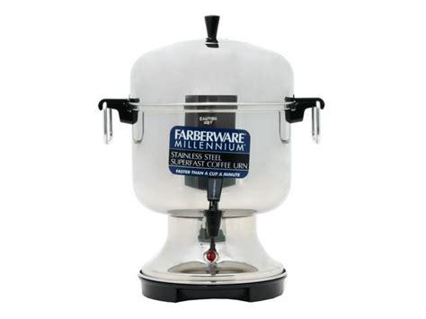 farberware fsu stainless steel   cup coffee urn