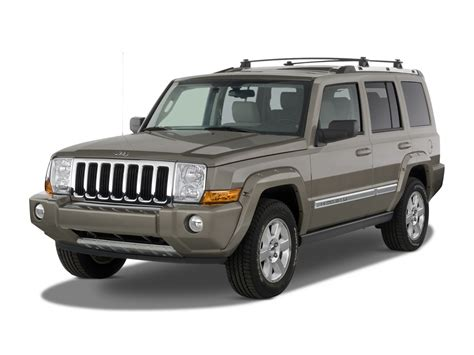 jeep commander vs 2007 jeep commander reviews and rating motor trend