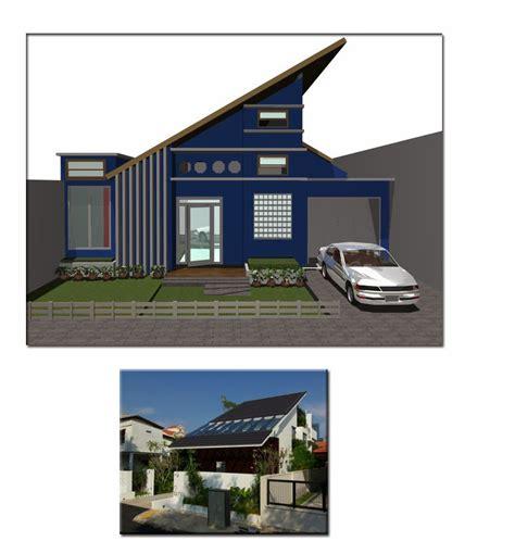 model atap rumah miring   menjadi trend update
