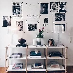 Erste Eigene Wohnung Einrichten : zu besuch bei lina home decor frames wallhangings pinterest haus wohnen und neue wohnung ~ Markanthonyermac.com Haus und Dekorationen