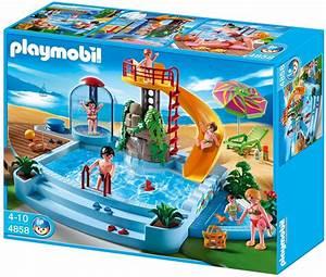 Jeu De Piscine : playmobil 4858 jeu de construction piscine avec ~ Melissatoandfro.com Idées de Décoration