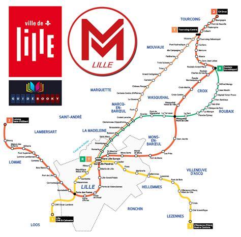 Carte Metro Pdf by Plan M 233 Tro Lille Guidebooky Le Plan Du M 233 Tro De Lille Pdf