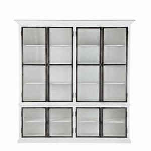 Maison Du Monde Vaisselier : vaisselier blanc ostende maisons du monde ~ Preciouscoupons.com Idées de Décoration
