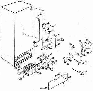 Northland Model Uf30g  1447 Upright Freezer Genuine Parts