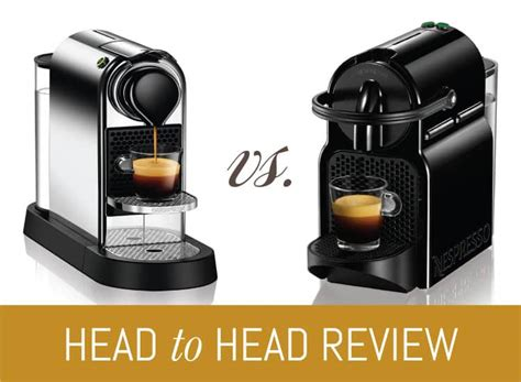 Nespresso Inissia vs. Nespresso CitiZ   What's Best for you?