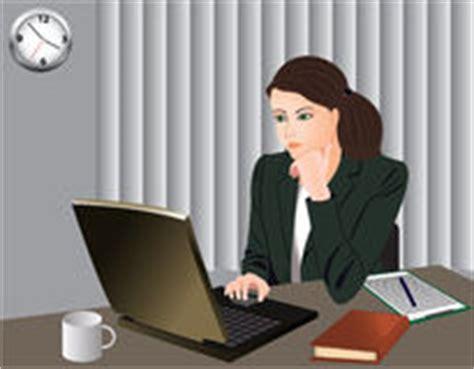 receptionniste de bureau secrétaire ou réceptionniste de bureau photographie stock