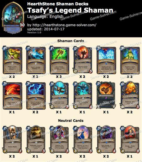 budget deck tsafy s legend shaman
