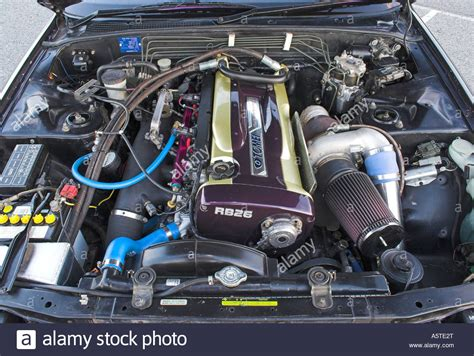 modified and performance orientated nissan rb26dett sports stock royalty free