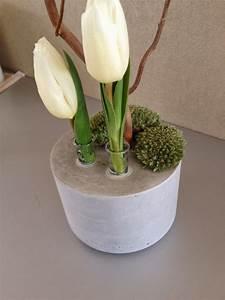 Beton Vase Selber Machen : wohnbrise selbergemachtes beton pinterest beton ciment et deco beton ~ Markanthonyermac.com Haus und Dekorationen