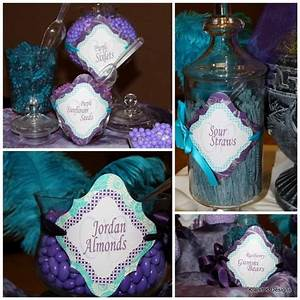 candy bars candy and turquoise on pinterest With purple and turquoise wedding favors