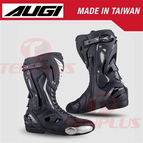 AUGI Racing Boots AR-1 Black | Shopee Philippines