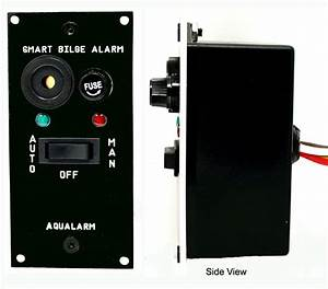 Bilge Alarms  U0026 Switches   Aqualarm  Warning Systems For