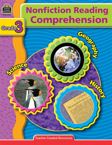 nonfiction reading comprehension grade  tcr