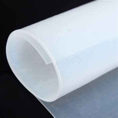 clear 1mm thickness 20 quot 20 quot silicone rubber sheet plate