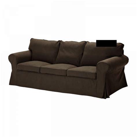 housse canap ektorp ikea ikea ektorp 3 seat sofa slipcover cover svanby brown linen