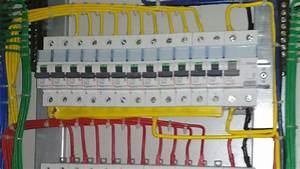 3phese Mcb Board Connection T  P  N Connection And Wiring