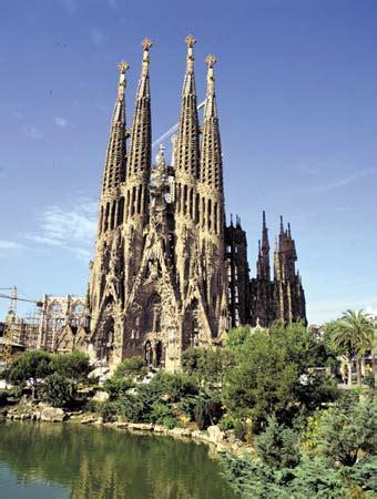antoni gaudi spanish architect britannicacom