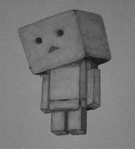 Danbo drawing- sad by mikaFrei on DeviantArt