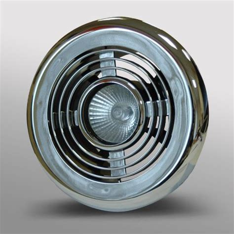 Kitchen Extractor Fan Light Cover by Led Bathroom Shower Extractor Fan 3 4w Light Kit Chrome