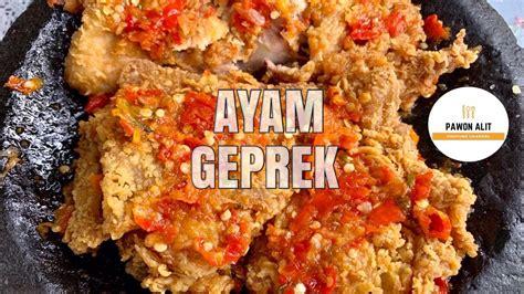 Cara membuat ayam geprek sambal bawang: RESEP AYAM GEPREK || CRISPY || SAMBAL BAWANG PEDAS GILAAAA !!! - YouTube